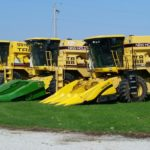 New Holland research combines waiting for harvest