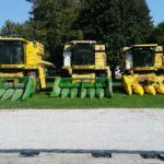 TR88s & TR89 combines ready for harvest season